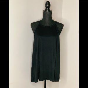 NWT LOFT Womens Black Top Size Large